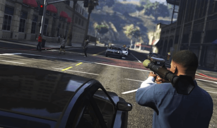 gta 5 in android gameplay